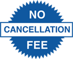 No cancellation fee