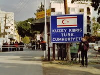 North Cyprus Borders